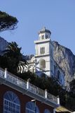 Het dorp van Anacapri Royalty-vrije Stock Afbeeldingen