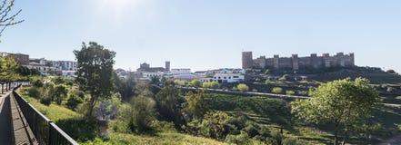 Het dorp van Bañosde La encina, de provincie van Jaen, Spanje royalty-vrije stock fotografie