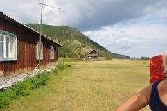 Het dorp van Baikal Royalty-vrije Stock Foto