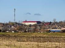 Het dorp van Borcea royalty-vrije stock foto's