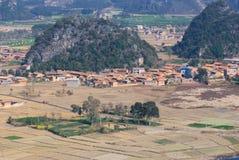 Het dorp van China Stock Afbeeldingen