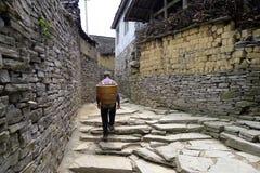 Het dorp van China Miao Royalty-vrije Stock Afbeelding