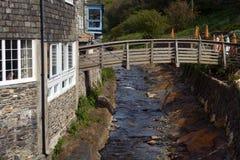 Het Dorp van Cornwall Royalty-vrije Stock Afbeeldingen