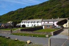 Het Dorp van Cornwall Stock Afbeeldingen