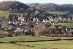 Het dorp van Cotswold Stock Afbeelding