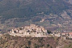 Het dorp van cottanello Stock Fotografie