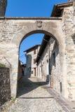 Het dorp van Cusercoli Stock Fotografie