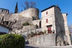 Het dorp van Cusercoli Stock Foto