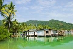 Het Dorp van de Baai van Bao van de klap Stock Foto's