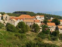 Het dorp van de berg royalty-vrije stock foto's