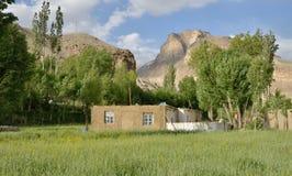 Het dorp van de berg Royalty-vrije Stock Foto