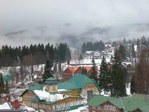 Het dorp van de berg Royalty-vrije Stock Fotografie
