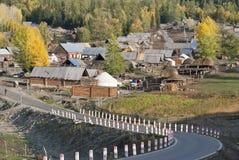 Het dorp van de grens Royalty-vrije Stock Fotografie