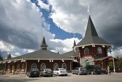 Het dorp van de Kerstman Royalty-vrije Stock Foto's