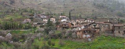 Het dorp van de Lazaniaberg, Cyprus royalty-vrije stock foto