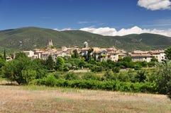 Het dorp van de Provence Stock Afbeeldingen