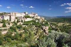 Het dorp van de Provence Stock Fotografie