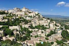 Het dorp van de Provence Royalty-vrije Stock Afbeelding