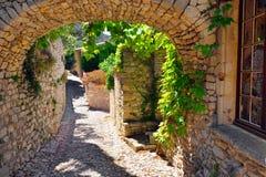 Het dorp van de Provence royalty-vrije stock foto
