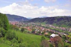 Het dorp van de vallei Royalty-vrije Stock Afbeeldingen