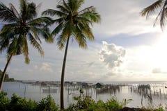 Het dorp van de visser. Stock Foto's