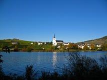 Het dorp van de wijn stock fotografie