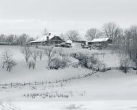 Het Dorp van de winter Royalty-vrije Stock Fotografie
