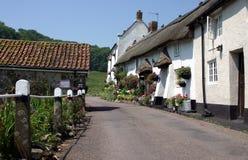 Het dorp van Devon Royalty-vrije Stock Afbeeldingen