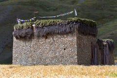Het dorp van Dhotarap, Nepal royalty-vrije stock afbeeldingen