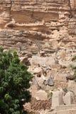 Het dorp van Dogon, Mali (Afrika). royalty-vrije stock fotografie