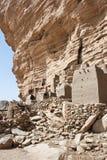 Het dorp van Dogon, Mali (Afrika). royalty-vrije stock afbeeldingen