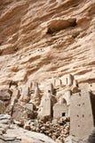 Het dorp van Dogon, Mali (Afrika). stock afbeeldingen