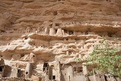 Het dorp van Dogon, Mali (Afrika). stock fotografie