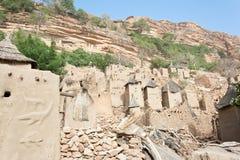 Het dorp van Dogon, Mali (Afrika). royalty-vrije stock foto's