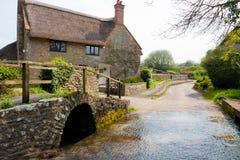 Het dorp van Dorset Stock Afbeelding