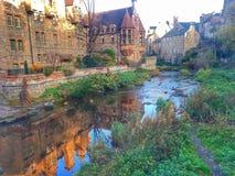Het dorp van Edinburgh Dean stock foto's