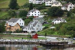 Het dorp van Europa Royalty-vrije Stock Fotografie