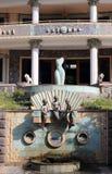 Het dorp van fontainvank Stock Fotografie