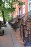 Het Dorp van Greenwich, New York stock fotografie