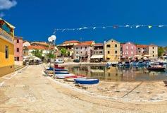 Het dorp van het Dugi otok eiland van Sali Royalty-vrije Stock Afbeelding