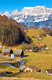 Het dorp van het land Royalty-vrije Stock Foto's