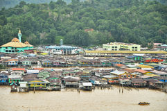 Het Dorp van het Water van Bandar Stock Foto's