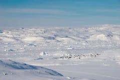 Het dorp van Inuit Stock Fotografie