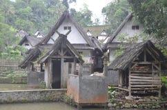 Het Dorp van Kampungnaga Stock Fotografie