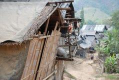 Het dorp van Karen in Thailand royalty-vrije stock foto's