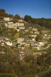 Het dorp van Kipi Stock Afbeeldingen