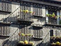 Het dorp van La Alberca Stock Foto's