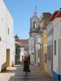 Het dorp van Lagos, Portugal Stock Afbeeldingen