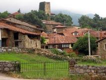 Het dorp van Mogrovejo Stock Foto