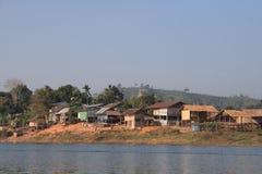 Het dorp van Mon Stock Foto